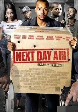 《次日到达》海报