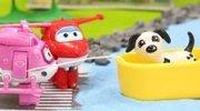 超级飞侠乐迪小爱和小猪佩奇送米妮的小狗回米奇妙妙屋 24