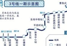北京三号线预计2020年通车