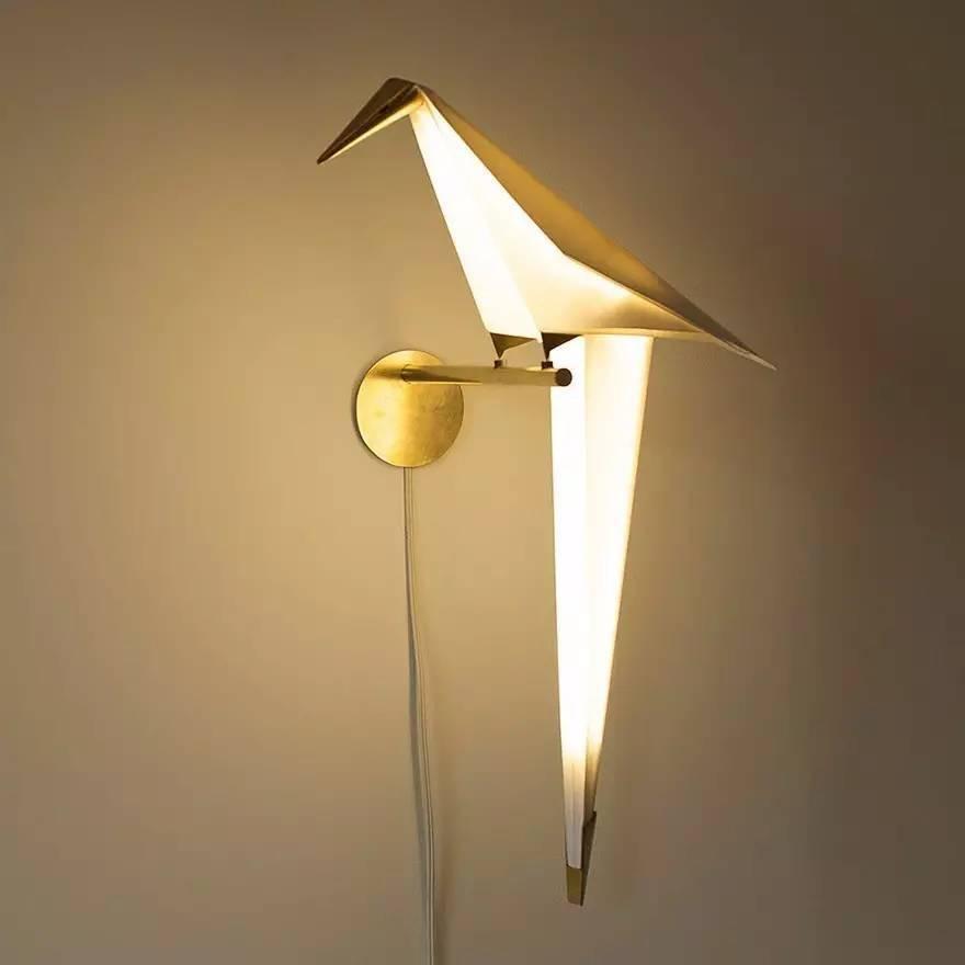 折纸变灯,国外小伙的创意!