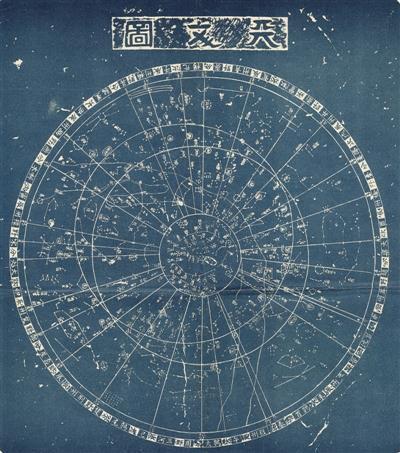 过神奇的中国古星图吗 星图 星象
