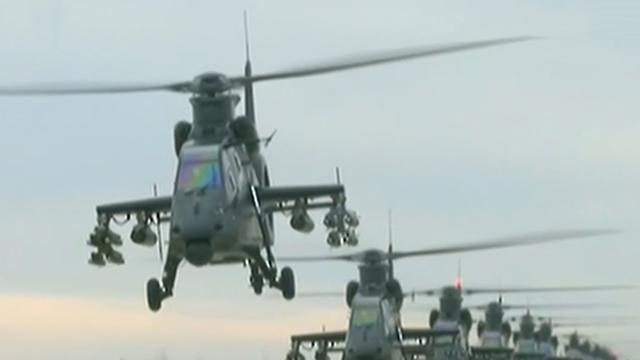 陆航两大纪念标识梯队即将起航受阅