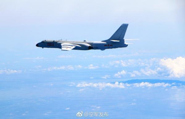 中国空军:本周多次进行远洋训练 检验海上实战能力