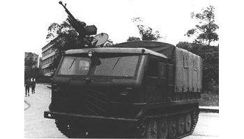 中国60式中型履带式牵引车图片