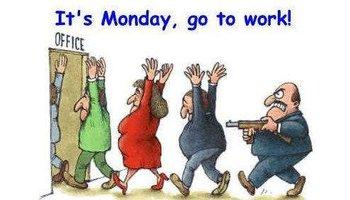 星期一上班的表情图