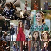 近日sbs周末电视剧《美女的诞生》中的韩艺瑟的穿衣