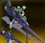 GN-002-DG014鱼雷型力天使高达
