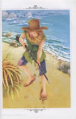 鲁滨逊一到荒岛,在克服了最初的悲观绝望情绪后