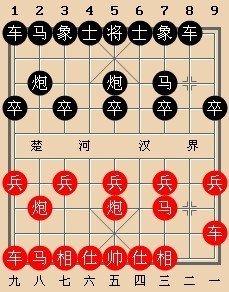 代《中国象棋谱图片
