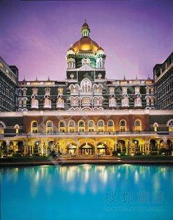 孟买泰姬玛哈大酒店融印度北方拉其普特风格,伊斯兰摩尔风格,欧式图片