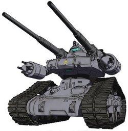 RTX-65初期型钢坦克