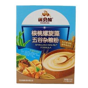 优贝加 畅销热品 米粉 维生素五谷杂粮粉核桃螺