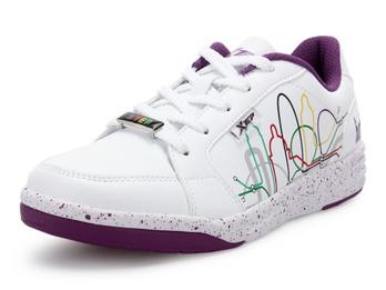 女板鞋 白色/紫色