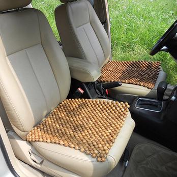 豪的HODEA黄香木汽车凉垫木珠坐垫四方垫过年烫发图片