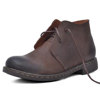 悍风humgfeng欧美真皮鞋短靴英伦高帮商务休闲鞋潮鞋