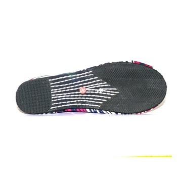 步福祥老北京布鞋 斑马纹时尚千层底中筒靴