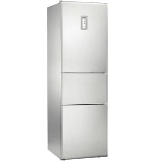 西门子(siemens)三门冰箱kk28f2660w(银灰色)
