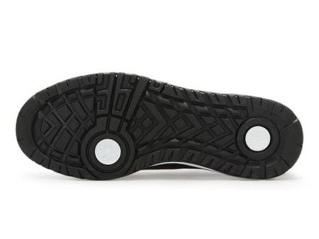 361度 男板鞋 黑色/绿色