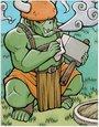 兽人战士卡片