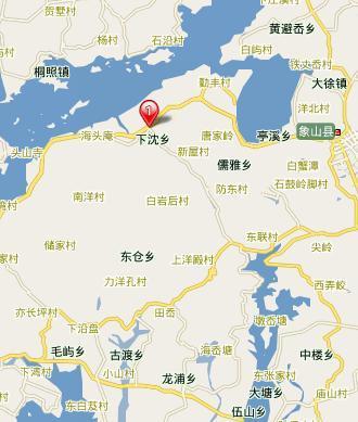 下(往象山方向)→西周镇(约 象山鲤龙潭国家森林公园是一个以湖光山色