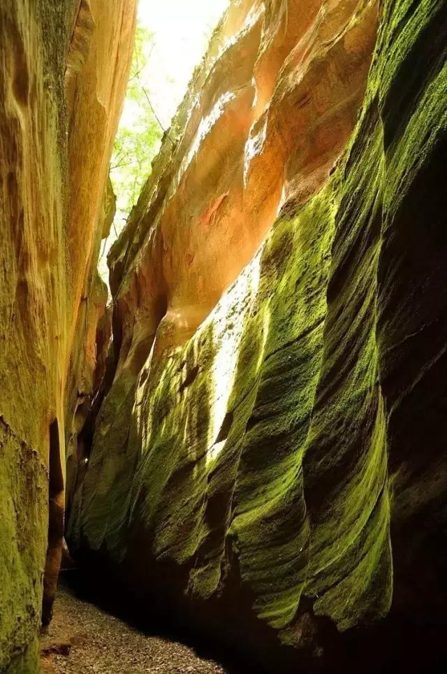 不用出国看羚羊谷,更美的峡谷就在身边 - 晓朝 - 晓朝的博客
