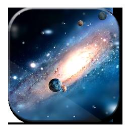 銀河S4空間動態壁紙
