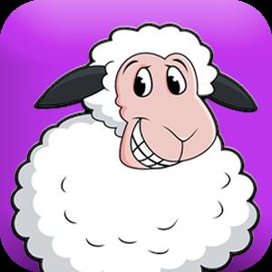 单个卡通动物小羊