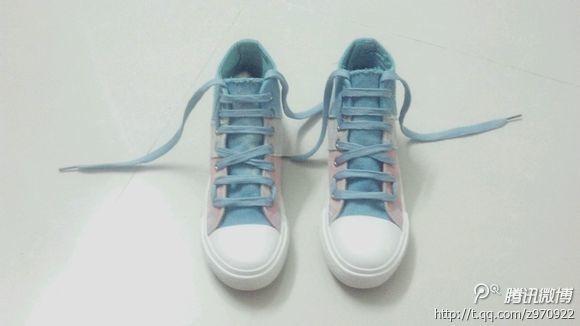2鞋带宽度不易绕结 已付图图片