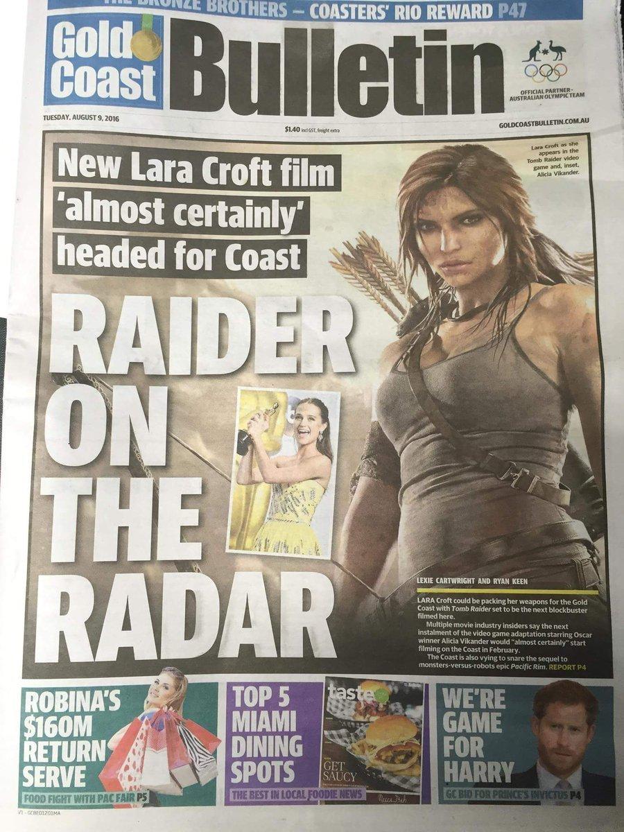 《古墓丽影》新电影澳洲开拍