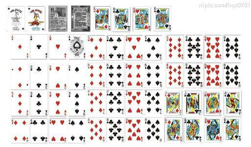 54张扑克牌图片下载