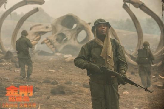 《金刚:骷髅岛》上映两日狂收3.55亿