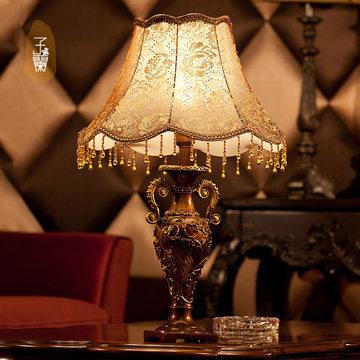 想买欧式台灯,放在卧室的