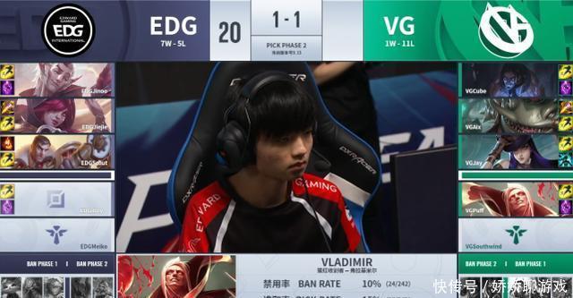 EDG难进季后赛,打VG都差点翻盘,iboy被教练差点骂哭