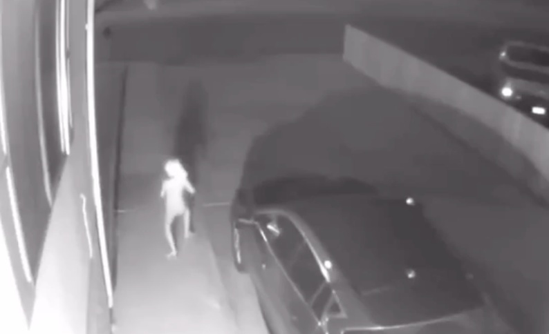 女子在自家监控中发现了一个奇怪生物,疑外星人?