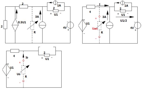 大一电路基础21题为什么戴维宁等效电阻不是他吸收最大的功率时的电阻