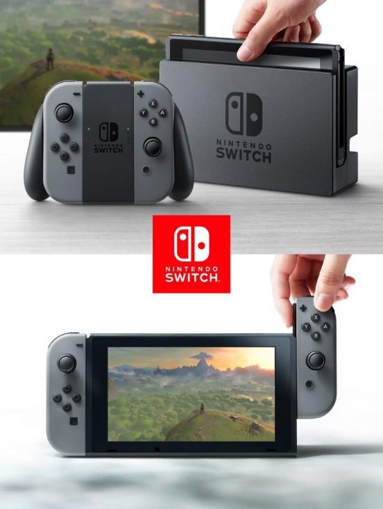 任天堂Switch模式切换