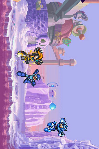 《洛克人》系列游戏,它采用和拳皇一样的2d横屏模式来展现游戏的乐趣.