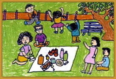 """""""春天的歌""""这幅五年级的画怎么画"""