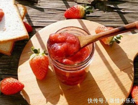 美食好吃难做成,教你存放草莓酱,小宝实料无添草莓人气真材图片