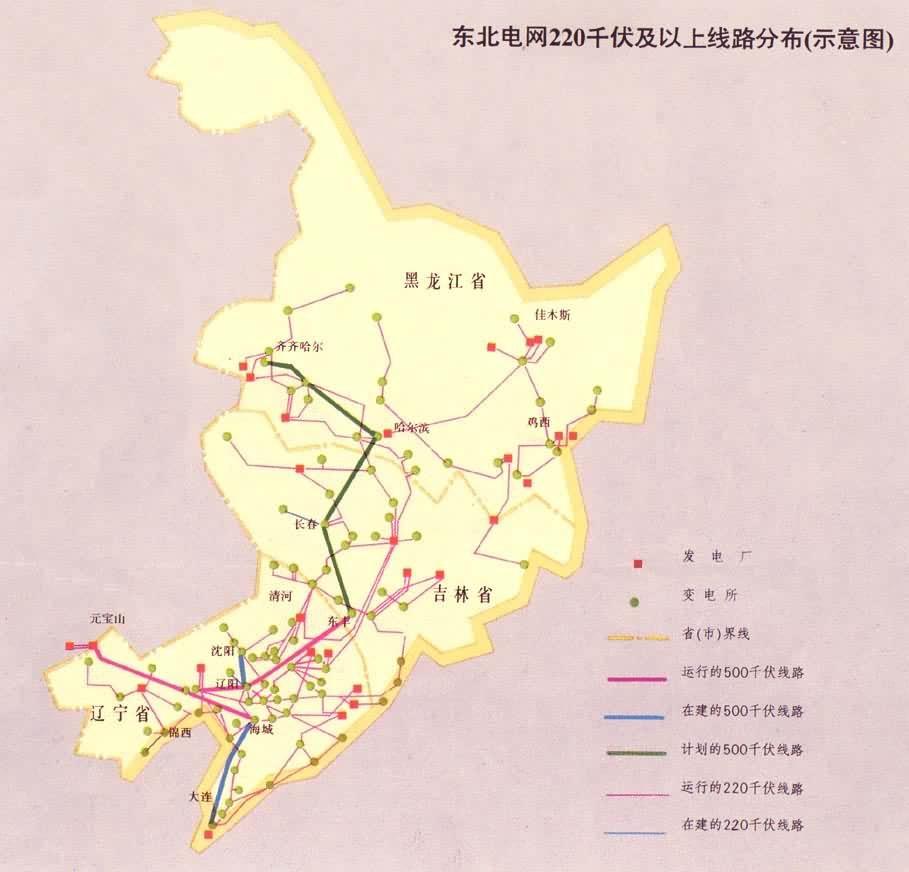 东北电力系统又称东北电网