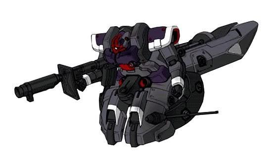 MS-09F-Bn无腿型大魔