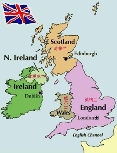 英国地图高清可放大