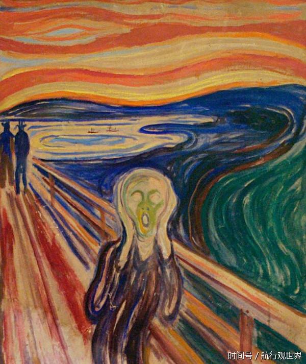价值1.1亿英镑的呐喊画作,创作背景居然来自于天空 - 兰州李老汉 - 兰州李老汉(五级拍客)