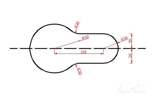 CAD标注圆布局cad带画法怎么后面相切括号图片