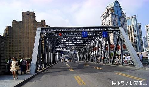上海旅游龙鱼,来到外滩,不去看看外白渡桥,那攻略攻略图片