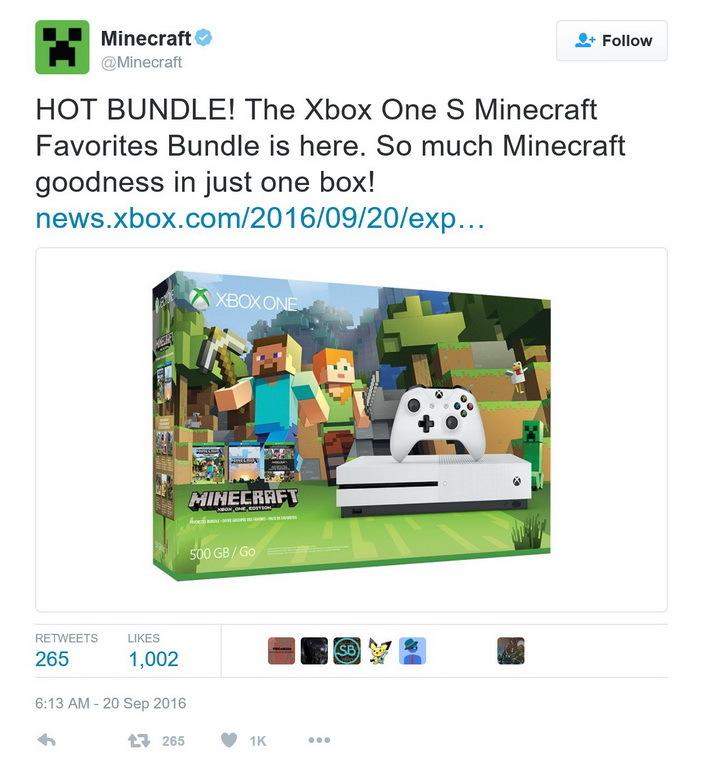 《我的世界》Xbox One S捆绑版
