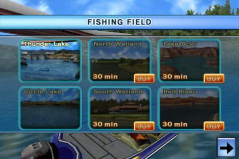3D鲈鱼钓场 Bass Fishing 3D on the Boat截图5