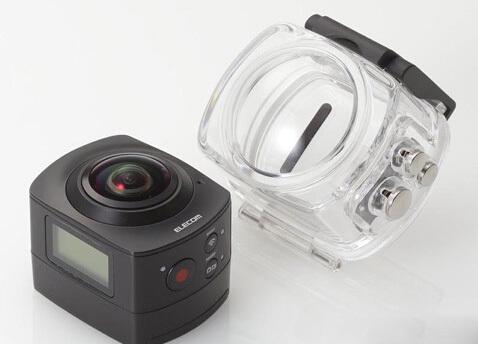 日本Elecom推360全景相机