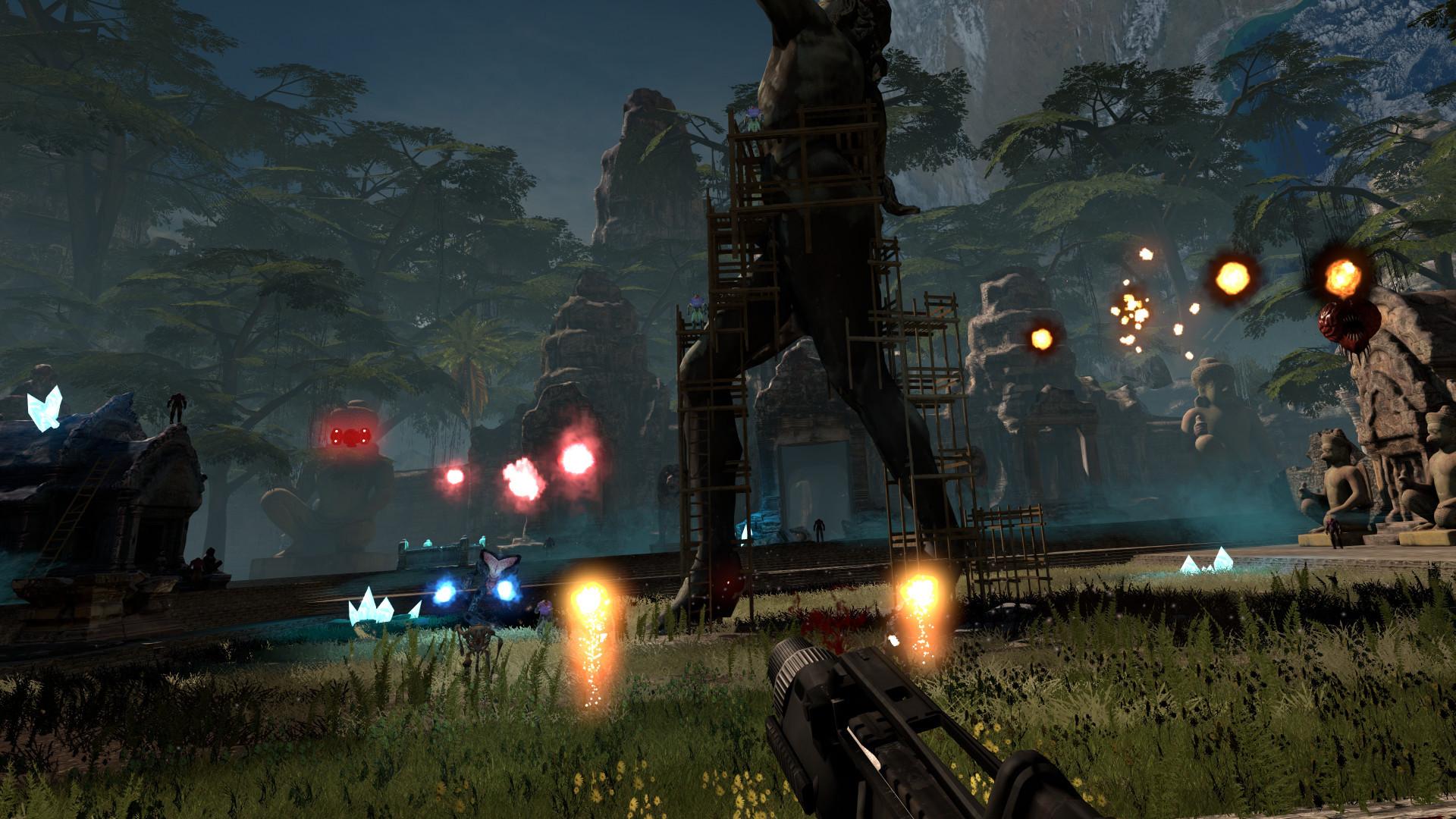 《英雄萨姆VR》Steam抢先体验