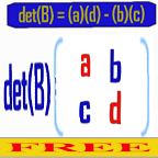 Determinant 2x2 Matrix